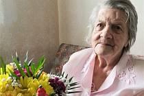 Zdenka Orálková z Bruntálu právě slaví sté narozeniny.