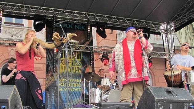 V Krnově se uskutečnily již třinácté Krnovské hudební slavnosti. Na podiu se vytřídali Tata Bojs, Čankišou, Ewa Farna a jiní.
