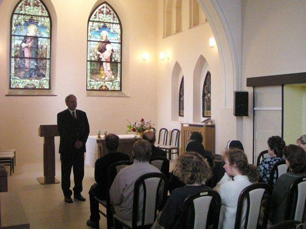 Charitní dům Salvátor se otevírá pro veřejnost jen při mimořádných příležitostech. V pátek 12. června se tam odehraje koncert sboru Canticum Novum v rámci festivalu Setkání s duchovní hudbou.