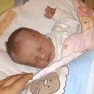 Jmenuji se TEREZKA ŠULCOVÁ, narodila jsem se 19. Dubna 2017, při narození jsem vážila 3700gramů a měřila 50 centimetrů. Moje maminka se jmenuje Lucie Grohmanová a můj tatínek se jmenuje Tomáš Šulc. Doma na mě čeká sestřička Kristýnka.