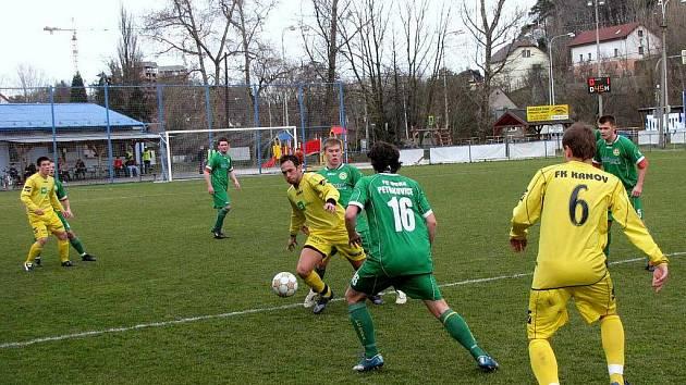 Fotbalisté Krnova. Ilustrační foto.