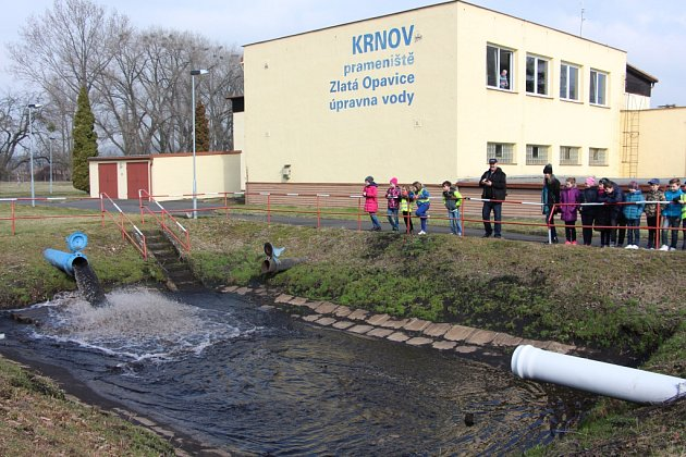 Krnovská úpravna vody.