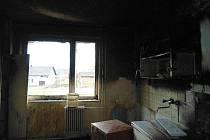 V pátek 6. ledna 2011 krátce po dvanácté hodině došlo k požáru v bytovém domě.
