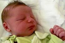 Aleš Fleger, narozen 3.3. 2011, váha 3,5 kg, míra 51 cm, Holčovice. Maminka Petra Flegrová, tatínek Aleš Fleger.