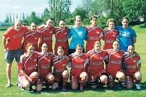 Fotbalistky Olympie Bruntál ve své první ligové sezoně dosáhly na skvělé třetí místo, a ještě mají šanci na vítězství v Moravském poháru.