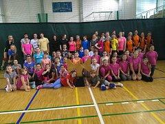 První letošní minivolejbalový turnaj v Krnově se vydařil na výbornou.
