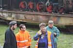Lokomotiva Malý Štokr se 10. října rozloučila se svým parním kotlem. Rám lokomotivy zůstal v Krnově a kotel se vydal na cestu do Kolína. Tam ho čeká generálka.