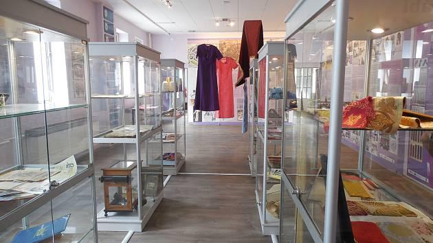 Uhlíkové seznamovací textilie