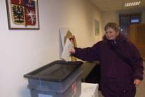 Volby v Dívčím Hradu si nenechalo ujít sto čtyřicet voličů.