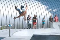 Ráj skateboardistů v Krnově.