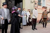 PREZIDENT OSVOBODITEL Tomáš Garrigue Masaryk nedávno dorazil do Krnova  i do Města Albrechtic.