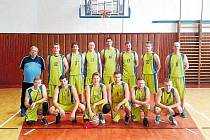 Krnovští basketbalisté ovládli severomoravskou soutěž a mohou postoupit do druhé ligy.