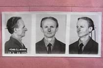 Ernest (Arnošt) Grünspan na fotografi i z roku 1960, která se dochovala v jeho vězeňských spisech. Za války ošetřoval zraněné francouzské partyzány z organizace Maquis.