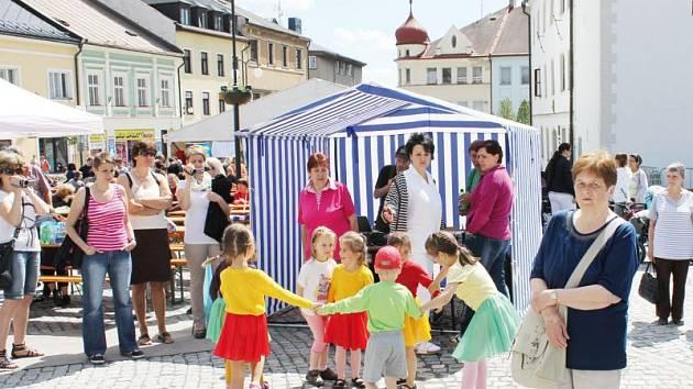 Náměstí v Rýmařově ožije v pátek oslavami dne města.