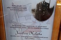 Den vítězství 8. května je pro Krnov rovněž vzpomínkou na letce radiotelegrafistu RAF Jaroslava Koláčka.