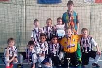 Nejmladší fotbalisté Juventusu Bruntál si z turnaje v Bílovci přivezli  bronzové medaile.