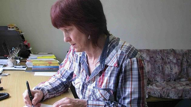 Starostka Staré Vsi Eva Staňková
