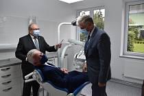 Nová zubní ordinace ve Vrbně pod Pradědem  ošetří první pacienty v druhé polovině října.