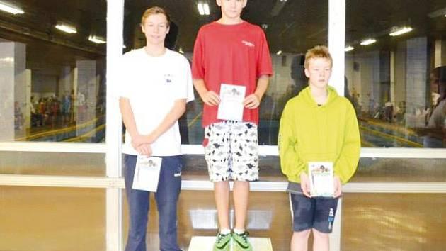 Roman Procházka opět na nejvyšším stupni. Bruntálský plavec potvrdil vynikající formu a vybojoval si pět titulů přeborníka.