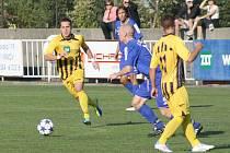 Fotbalisté FK Krnov byli zejména ve druhém poločase na hřišti lepším týmem, v deseti vstřelili branku, ale na body nedosáhli.