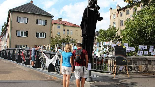 Sousedská pouliční slavnost Zažít Krnov jinak.