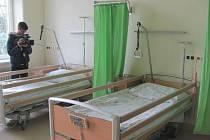 V pondělí se v léčebně dlouhodobě nemocných ve Městě Albrechticích slavnostně otevřelo modernizované centrum komplexní paliativní a geriatrické péče.