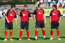 Krnovští fotbalisté - ilustrační foto.