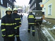 Dobrovolní hasiči z Karlovy Studánky.