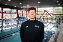 Roman Procházka na snímku z 26. ročníku Velké ceny Ostravy v plavání, 5. května 2019 v Ostravě.