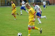 Úkol splněn - Jiskra si po sobotní výhře nad Albrechticemi zahraje divizi i příští rok.