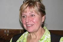 Bernardina Mereďová, vedoucí pěveckého souboru Bernardini z Břidličné