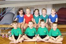 O pohár hravé gymnastiky si zasoutěžily krnovské gymnastické naděje. Soutěž uspořádala Hlubčická mateřská škola.