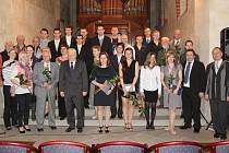 Sportovní komise společně s představiteli města ocenila nejlepší sportovce Krnova za rok 2011.