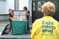 Iniciativa Zažít město jinak má v Krnově už tradici, koná se tam několik let.