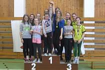 Rýmařovské žákyně sbíraly ve druhém kole soutěže tří škol v pětiboji Odznaku všestrannosti olympijských vítězů samé úspěchy.