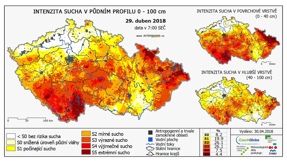 Sucho v ČR - Ilustrační foto.