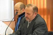 Vladimír H. u bruntálského soudu. Ilustrační foto.