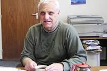 Jaroslav Balcárek, předseda Hospodářské komory okresu Bruntál.