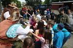 Mezinárodní den dětí připadl na sobotu 1. června. Jízda parním vlakem do Osoblahy s loupežníkem Hotzenplotzem bavila děti i rodiče.