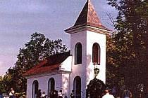 Kaple Navštívení Panny Marie v obci Rusín.
