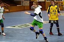 Mladší dorostenci Baníku (v bílém Slávek Mlotek) vyhráli o prázdninách dva turnaje.