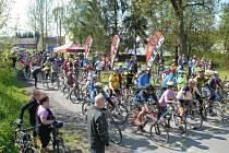 Dvě stě šedesát účastníků se postavilo na start tradiční akce v Moravském Berouně s názvem HecKolo.