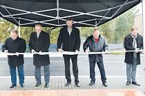 Slavnostního otevření se ujali zástupci Moravskoslezského kraje, Krnova a zhotovitele – firmy JHP spol. s.r.o.