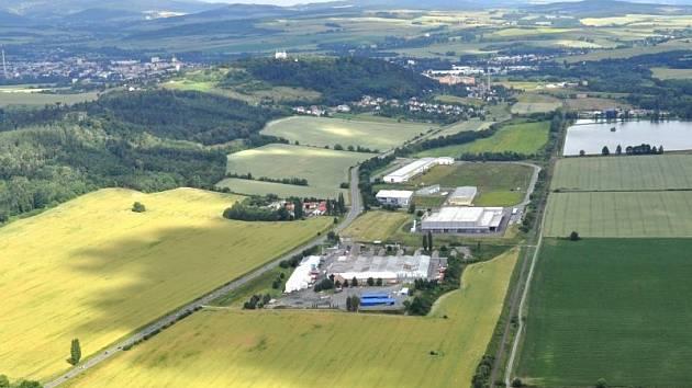 Průmyslová zóna Červený Dvůr. Ilustrační foto.