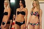 Dvanáct nádherných dívek z Česka, Slovenska, Maďarska a Polska soutěžilo ve finále Soutěže Superkrás v Rýmařově o korunku miss.