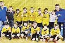 Žákovská reprezentace okresního fotbalového svazu Bruntál.