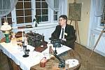 Střelecký dům na noční prohlídce představil i kancelář Leopolda Bauera.