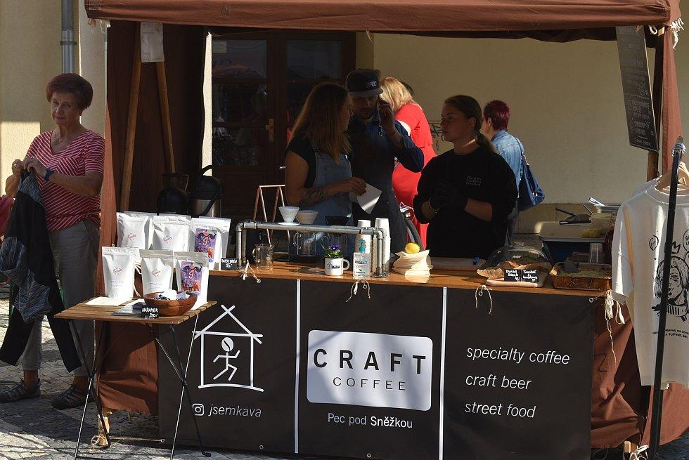 Krnov Coffee festival 2021 oživil náměstí.