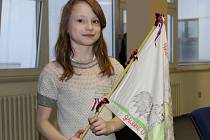 Předání Dětské mírové ceny Anděl pro lepší svět na Městském úřade v Bruntále.
