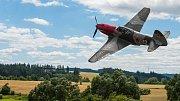 Výročí liptaňské tragédie provází akce s letadlem Jak-3 a tankem T-34.